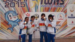 女子34Pリレー表彰式