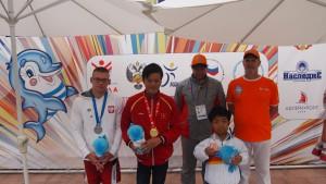 冨樫選手銅メダル